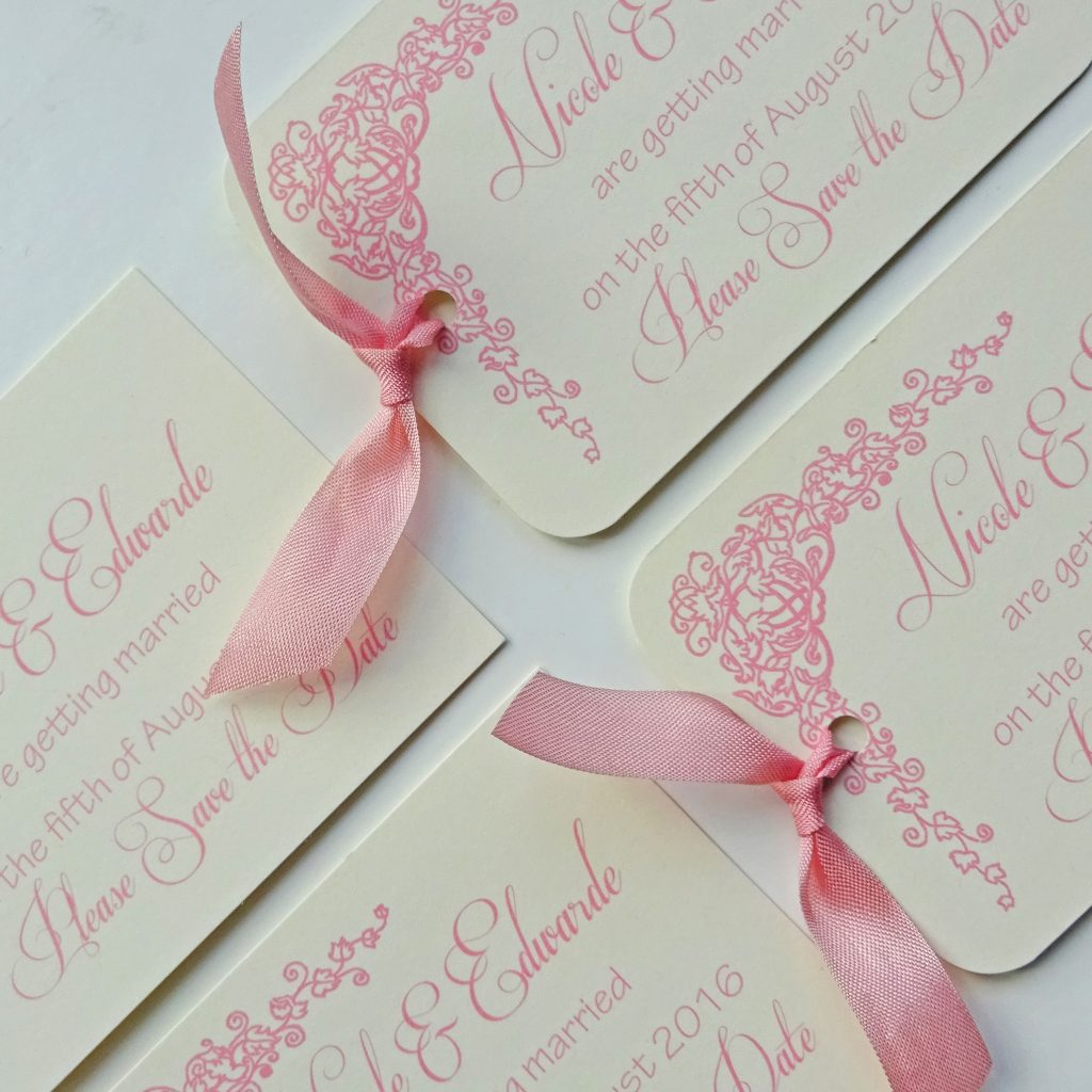 dusky-pink-wedding-save-the-date-tags-traditional-classic-ivory-pink-ribbon-personalised