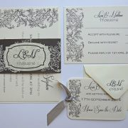wedding-save-the-date-tags-invitations-roses-monochrome-fonts-typeface-grey-ivory-traditional