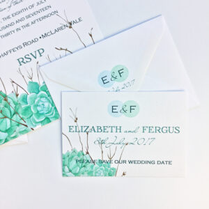 succulents_blue_green_turquoise_modern_typographic_save-the-date_stationery_stationary_wedding_nature