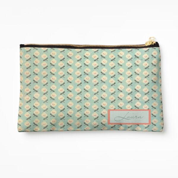 aqua-and-cream-floral-make-up-bag