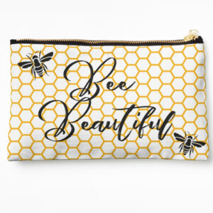 bee-beauitful-honeycomb-make-up-bag-yellow-blackclose-up