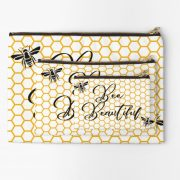 bee-beauitful-honeycomb-make-up-bag-yellow-blackclose-up-all-sizes