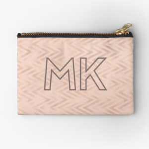 chevron-blush-and-grey-personalised-make-up-bag